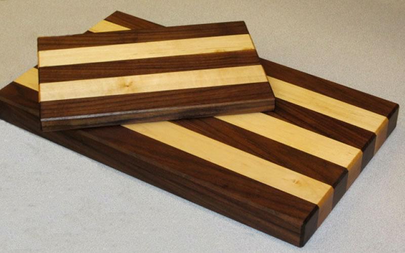 maple  walnut cutting boards  trc timberworks, Kitchen design